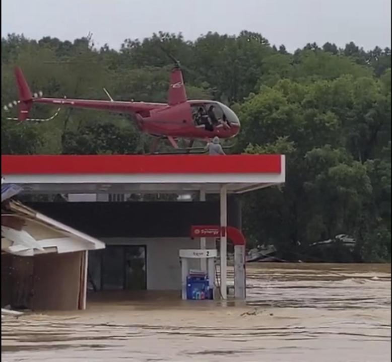 Waverly helicopter rescues