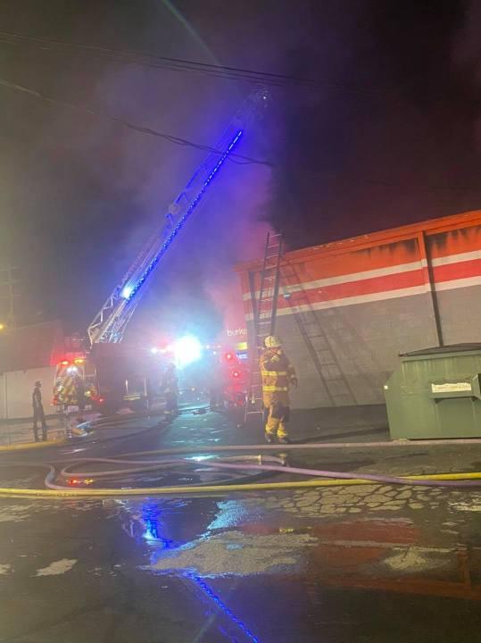 Lawrenceburg fire