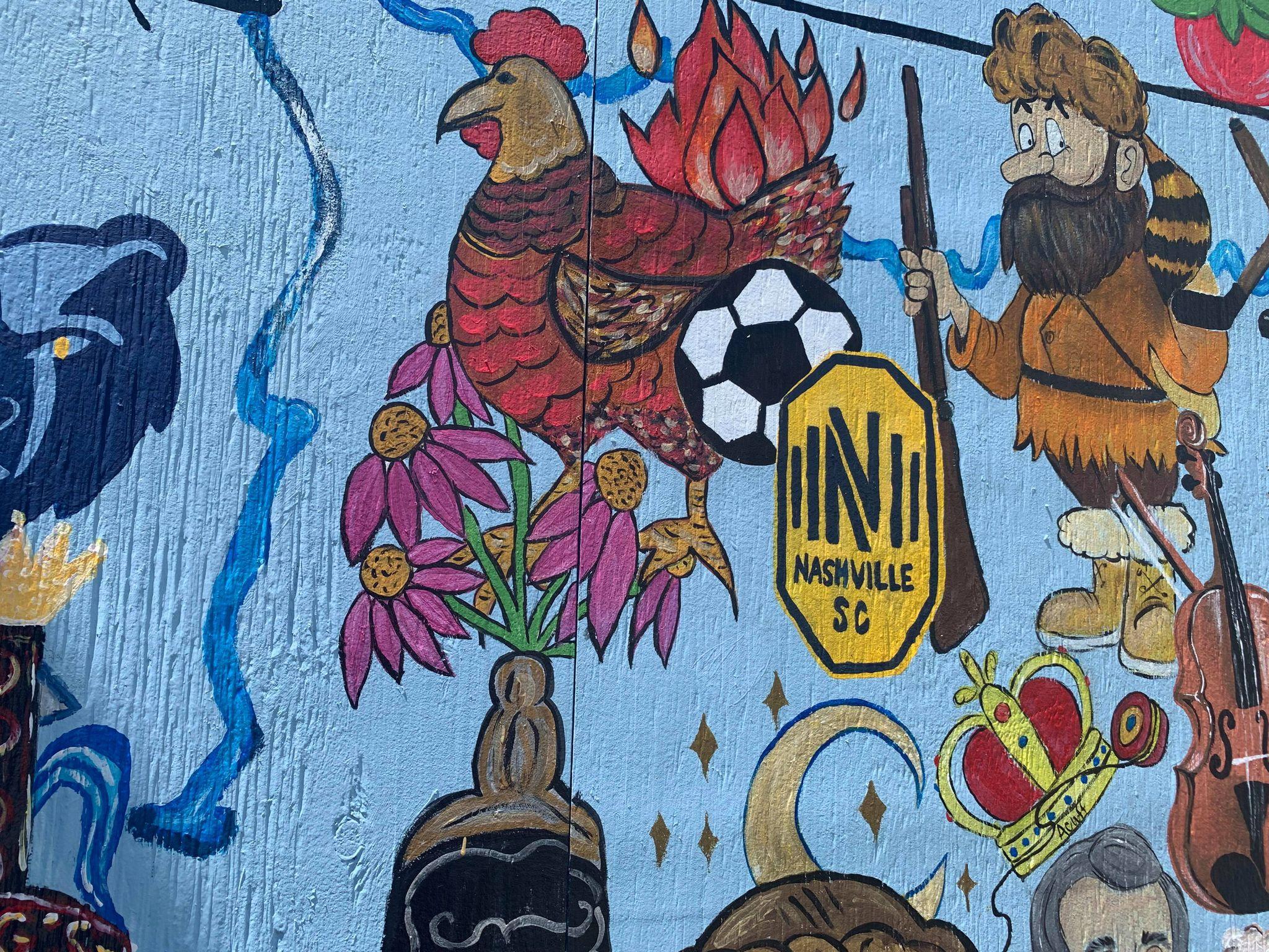Wilson County Fair Mural