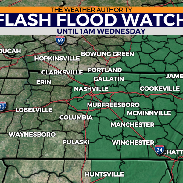 Flash Flood Watch - Tuesday afternoon - 8.31
