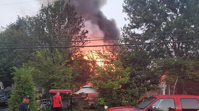 Singletree Drive fire