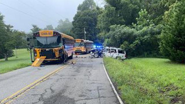 Dickson County fatal bus crash