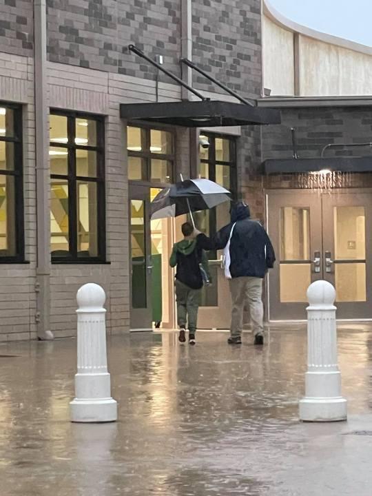 Franklin County principal rain