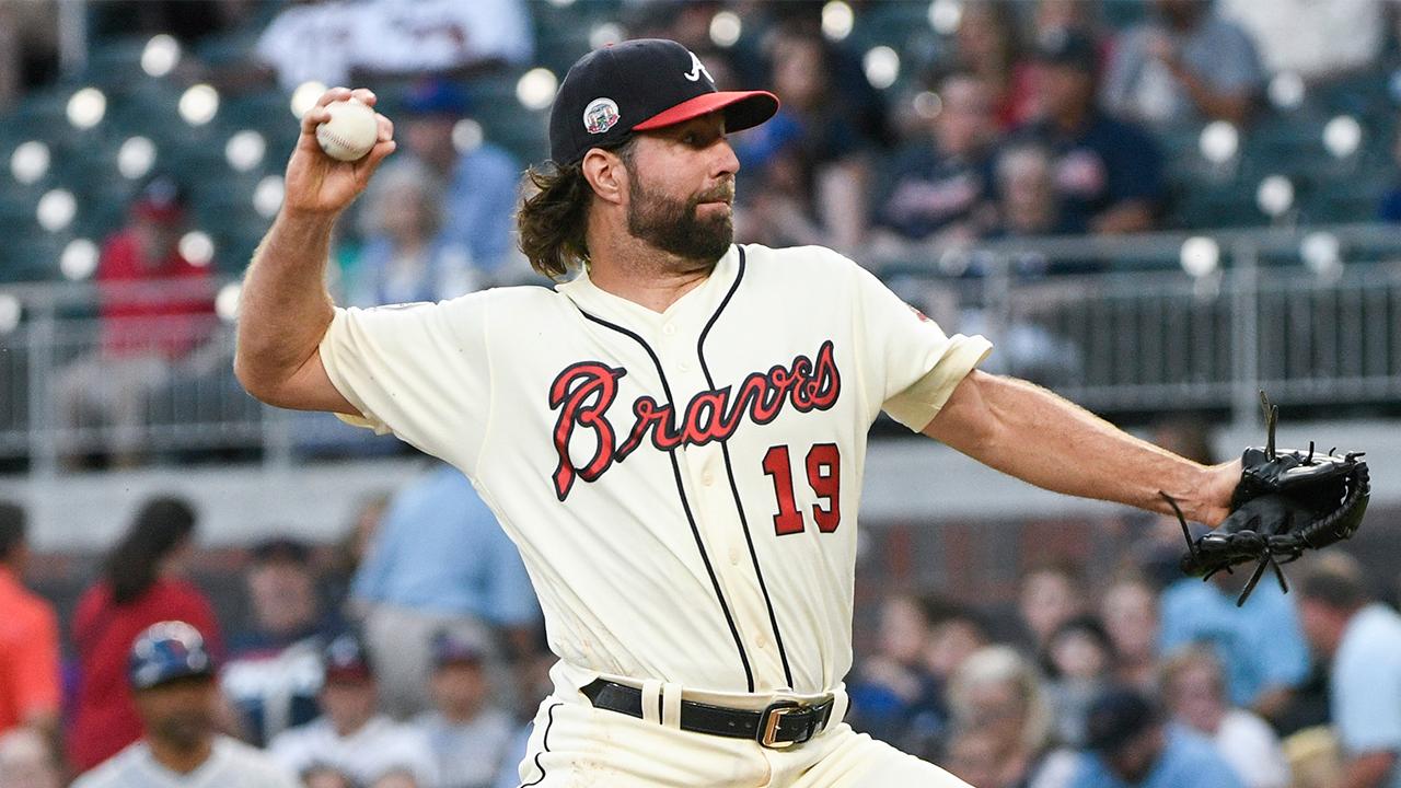 R.A. Dickey, MLB