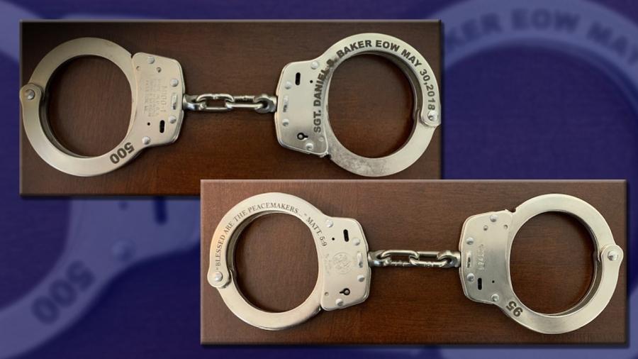 sgt baker handcuffs