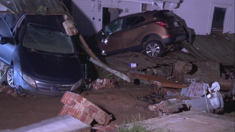 Waverly flood damage
