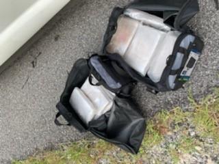 white powder seized from truck