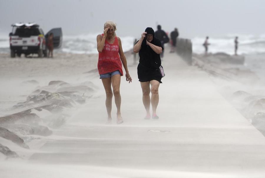 https://apnews.com/article/environment-and-nature-texas-louisiana-floods-storms-35477d4e990ac7c6de4c7c55e33c00fd Click to copy RELATED TOPICS Hurricane Harvey Environment and nature Texas Louisiana Floods Storms Hurricanes Houston Hurricane Nicholas