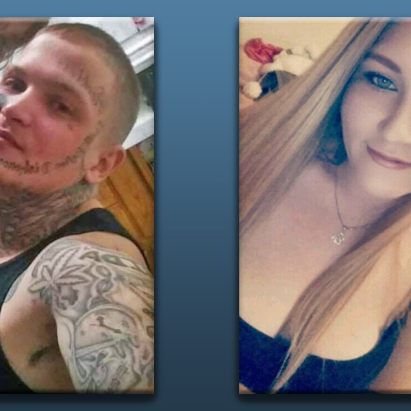 Chasity Hill and Logan Tindale