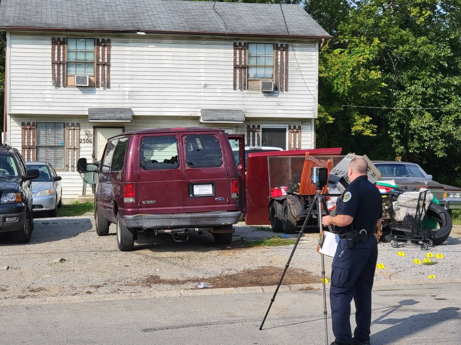 Highland Trace Drive shooting