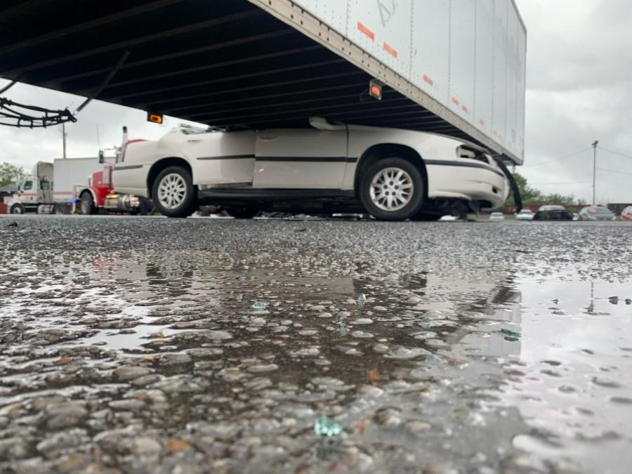 Murfreesboro Semi Crash