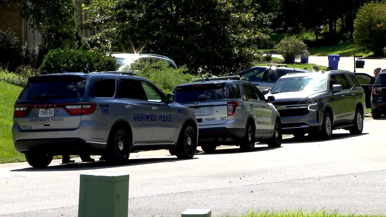 Brentwood burglar search