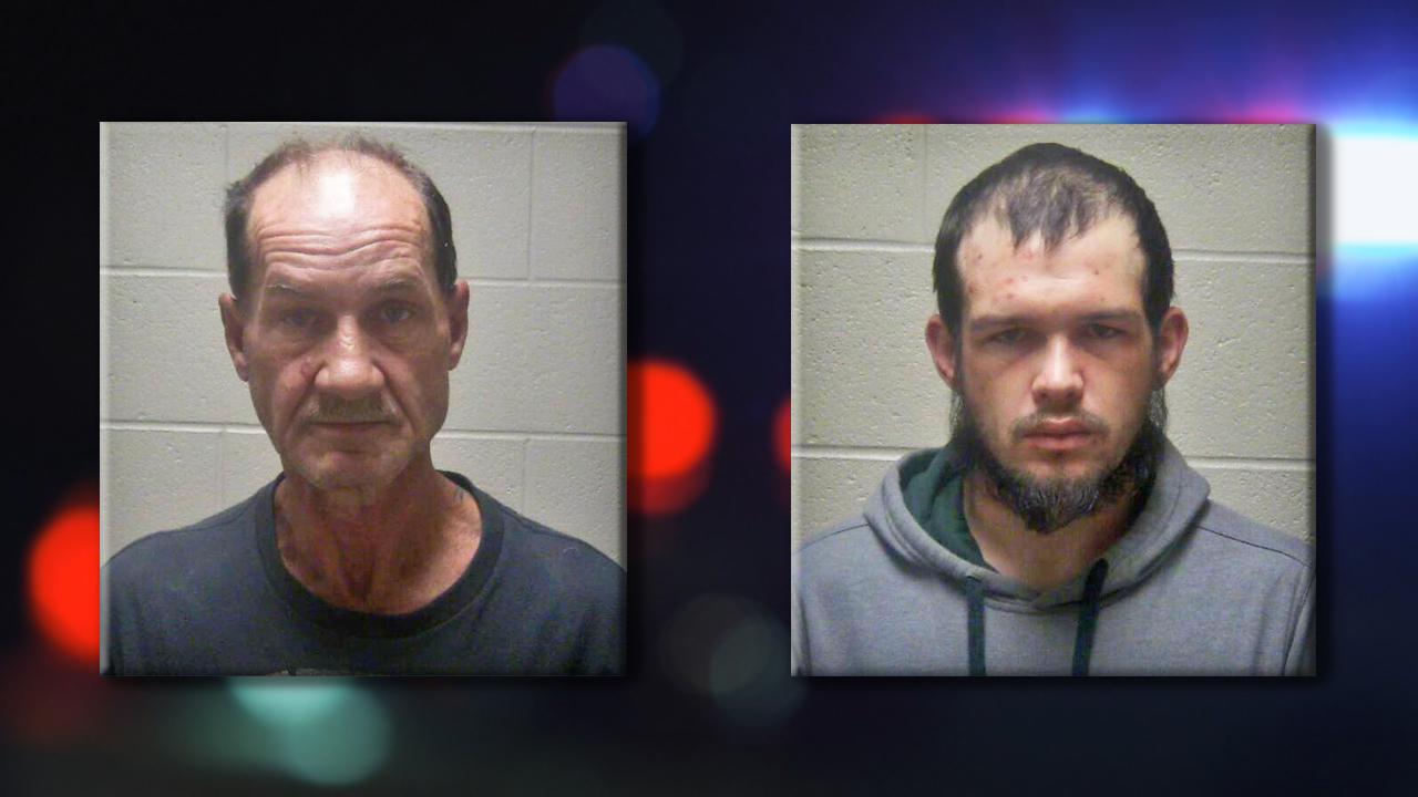 Ronald Archey (Left) and Cullen Hickerson (Right) (Source: Coffee County Sheriff's Department)
