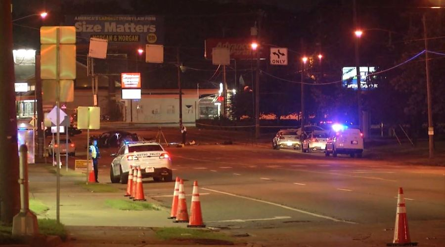 Gallatin Pike and Duling Avenue crash
