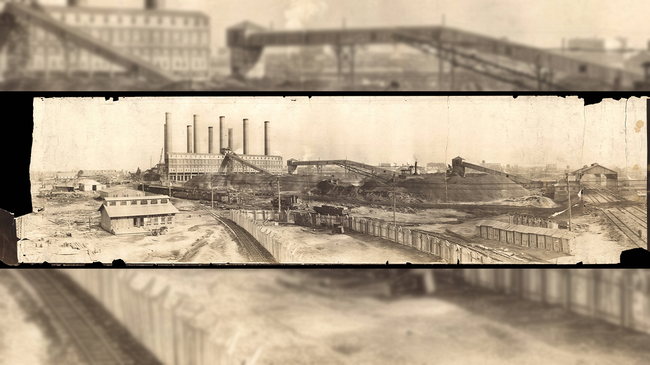 Dupont Power Plant, Courtesy Tennessee State Library and Archives