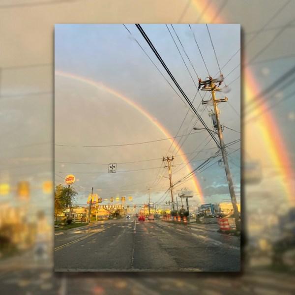 Rainbow in South Nashville PHOTO: Emily Proud