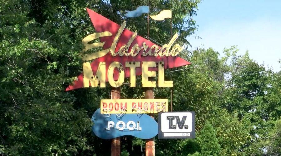 El Dorado hotel sign