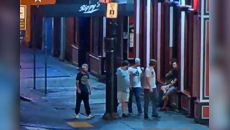 Broadway assault