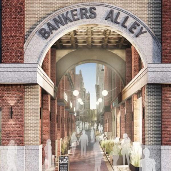 Bankers Alley rendering