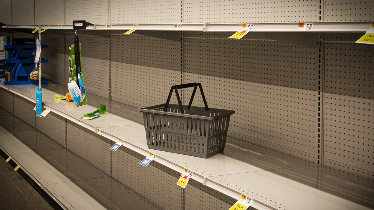 Empty Store Shelves, Supply Chain
