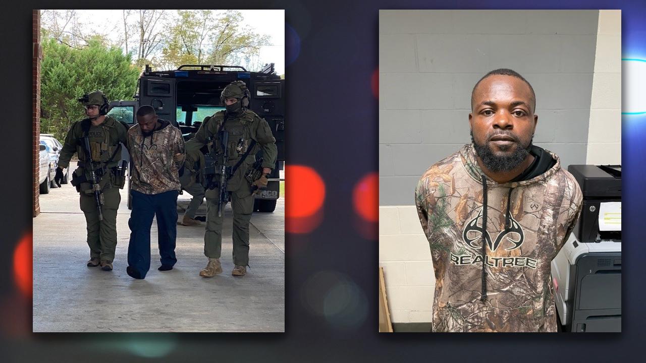SOG SWAT took Damien Ferguson into custody without incident