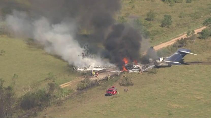 Houston plane crash