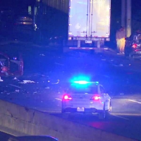 I-24 multi-vehicle crash OCT.16